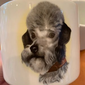 Schonwald Other - Vintage German mug set featuring dogs